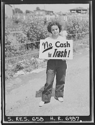 September 26, 2008: No Cash for Trash!